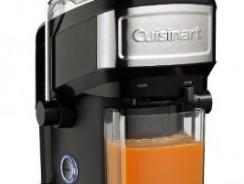 Test de la centrifugeuse Cuisinart CJE500E